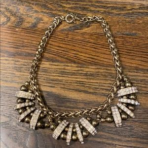Vintage inspired statement necklace.